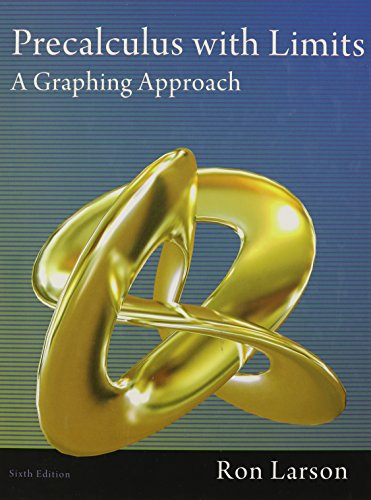 9781111427641: Precalculus with Limits: A Graphing Approach