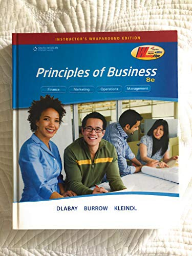 Iwe Intro to Business 8e: Les R. Dlabay;