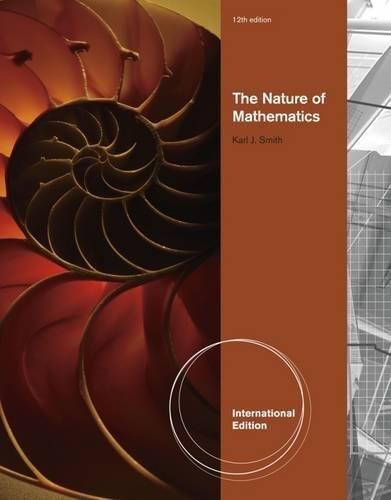 9781111428518: Nature of Mathematics, International Edition
