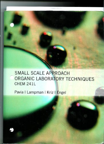 9781111464752: CHEM 241L SMALL SCALE APPROACH ORGANIC LABORATORY TECHNIQUES (CHEM 241L SMALL SCALE APPROACH ORGANIC LABORATORY TECHNIQUES)