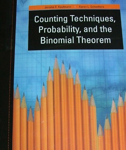 9781111466831: COUNTING TECHNIQUES, PROBABILITY, AND THE BINOMIAL THEOREM