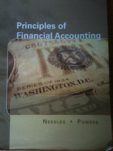9781111466992: Principles of Financial Accounting (Selected Chapters)