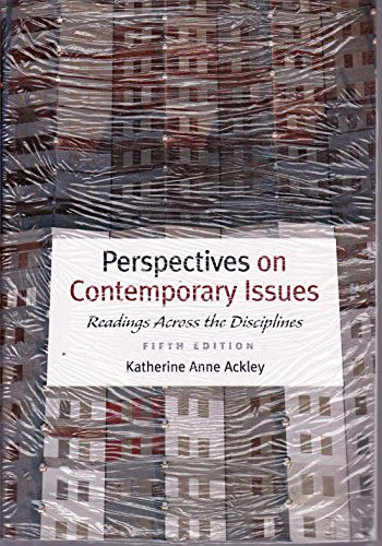 9781111476175: Perspectives on Contemporary Issues: Readings Across the Disciplines -- Fifth 5th Edition