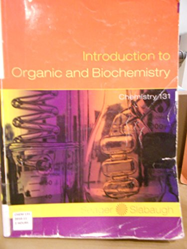 9781111476519: Introduction to Organic and Biochemistry