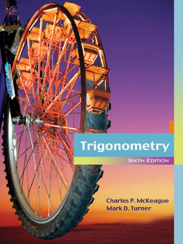 Bundle: Trigonometry, 6th + Enhanced WebAssign Homework with eBook Printed Access Card for One Term...