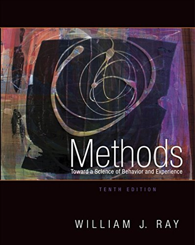 9781111521158: Methods Toward a Science of Behavior and Experience