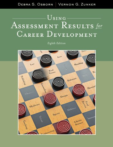 9781111521271: Using Assessment Results for Career Development (Graduate Career Counseling)