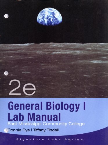 9781111523022: General Biology I Lab Manual (East Mississippi Community College, Signature Labs Series)