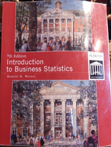9781111524081: Introduction to Business Statistics