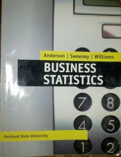 9781111524449: Business Statistics; Portland State University