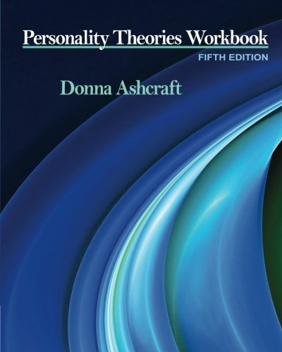9781111524913: Personality Theories Workbook (PSY 235 Theories of Personality)