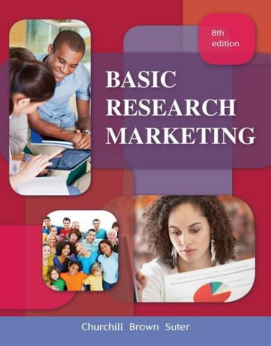 9781111525293: Basic Marketing Research (Book Only)