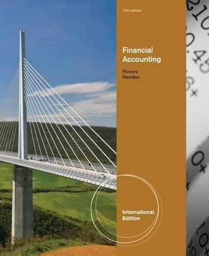 9781111525545: Financial Accounting, International Edition (with IFRS)