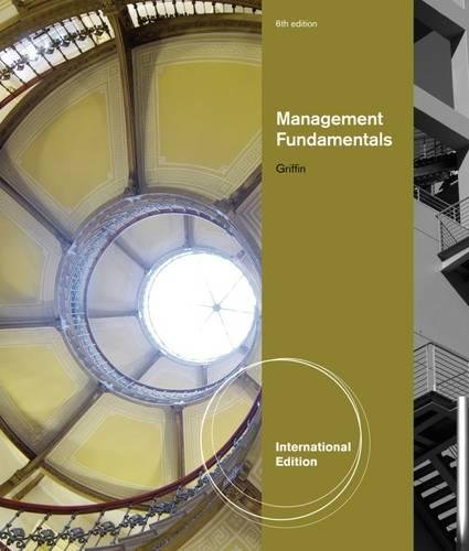9781111525668: Management Fundamentals, International Edition