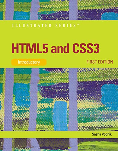 9781111527891: HTML5 and CSS3, Illustrated Introductory