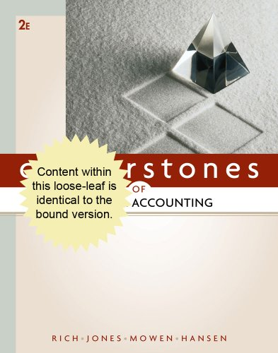 9781111529154: Cornerstones of Financial Accounting
