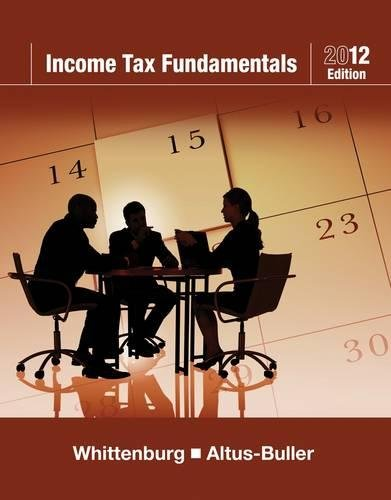 9781111529192: Income Tax Fundamentals 2012 (with H&r Block at Home Tax Preparation Software CD-ROM)