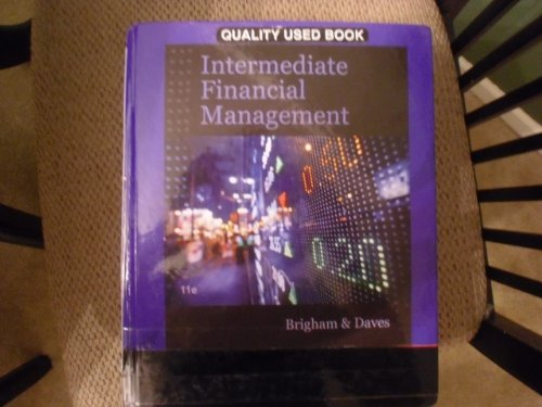 INTERMEDIATE FINANCIAL MGMT.-TEXT: Brigham, Eugene F.; Daves, Phillip R.