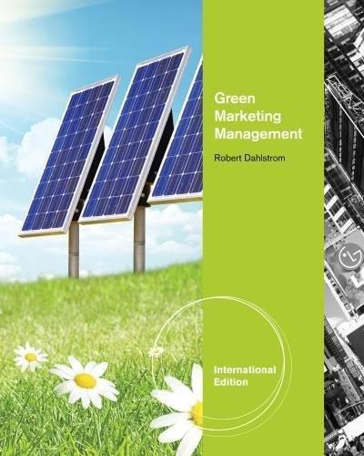 9781111530372: Green Marketing Management, International Edition