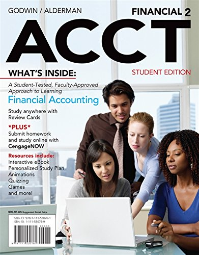 Financial ACCT2 (with CengageNOW?, 1 term Printed: Godwin, Norman H.;