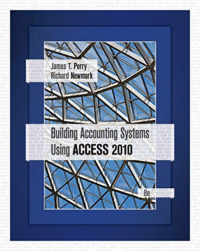 Building Accounting Systems Using Access 2010 (Paperback): Professor James Perry
