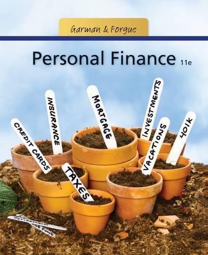 9781111531010: Personal Finance