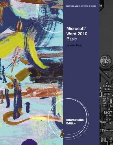 9781111531607: Illustrated Course Guide: Microsoft® Word 2010 Basic, International Edition