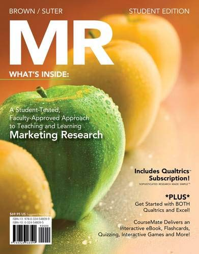 MR (with Marketing CourseMate with eBook Printed Access Card) (9781111532406) by Tom J. Brown; Tracy A. Suter