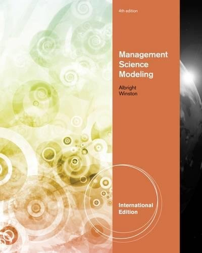 9781111532451: Management Science Modeling, International Edition (with Essential Textbook Resources Printed Access Card, Intl. Edition)