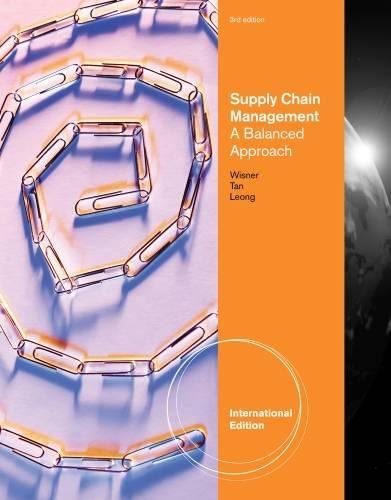 9781111532642: Principles of Supply Chain Management: A Balanced Approach