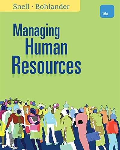9781111532826: Managing Human Resources