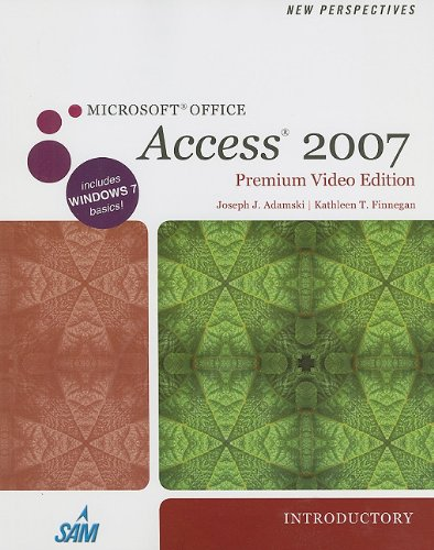 9781111533021: New Perspectives on Microsoft Office Access 2007, Introductory, Premium Video Edition (Book Only) (New Perspectives (Course Technology Paperback))