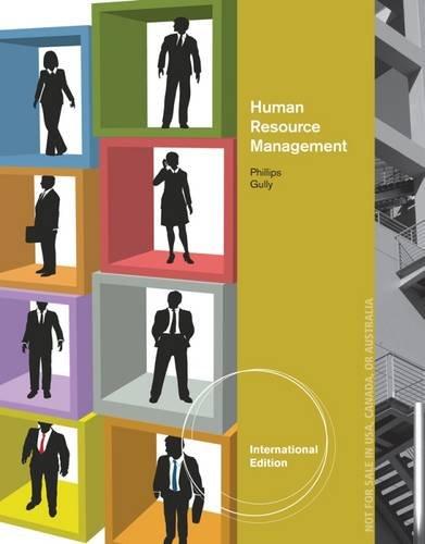 9781111533564: Human Resource Management