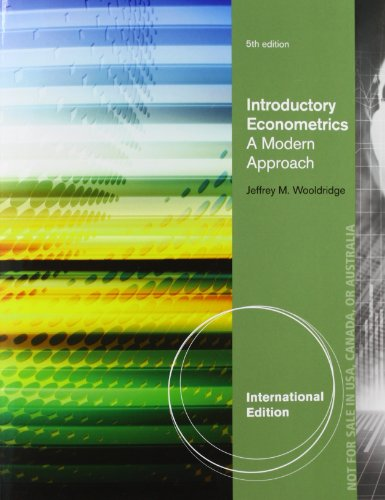 9781111534394: Introductory Econometrics