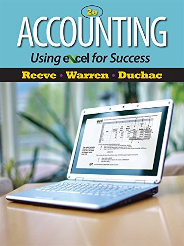 9781111535216: Accounting Using Excel for Success (with Essential Resources Excel Tutorials Printed Access Card) (Managerial Accounting)