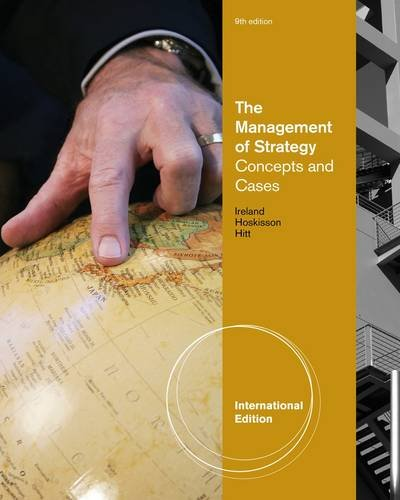 9781111535339: The Management Of Strategy Concepts And Cases