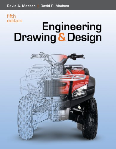 Student CD for Madsen/Madsen's Engineering Drawing and Design, 5th (1111536074) by David A. Madsen; David P. Madsen