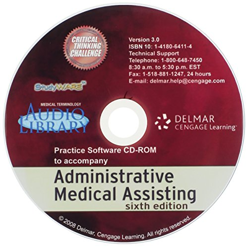 9781111537357: Studyware for Fordney/French/Follis' Administrative Medical Assisting, 6th (Medical Terminology Audio Library)