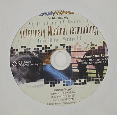 9781111538415: Studyware for Romich's An Illustrated Guide to Veterinary Medical Terminology, 3rd