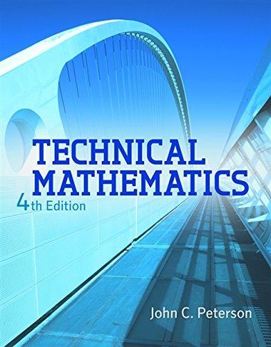 9781111540463: Technical Mathematics