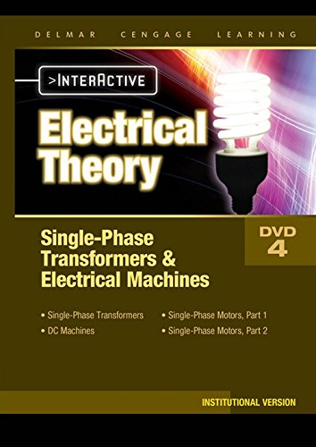 Electrical Theory Single Phase Transformers Electrical Machines Interactive Institutional DVD (14-...