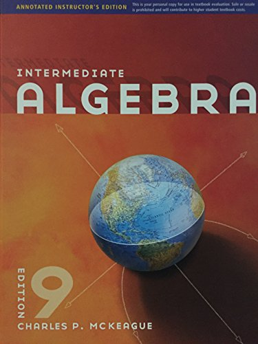 9781111567750: Aie Intermed Alg 9e