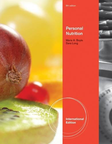 9781111572402: Personal Nutrition