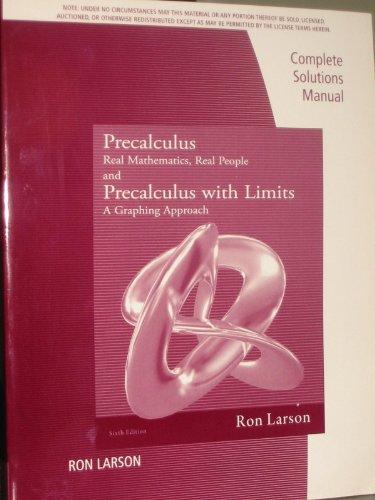 9781111574024: Cs Gd Precalculus Real Mathematics Real