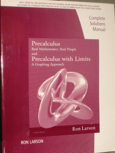 9781111574024: Cs Gd Precalculus Real Mathematics Real