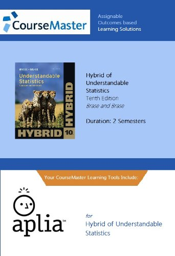 9781111574444: Understandable Statistics: Concepts and Methods, Hybrid Edition (with Aplia General Introduction Statistics 2-Semester Printed Access Card)