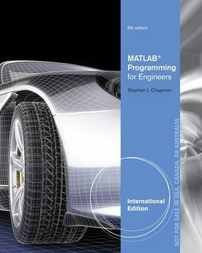 9781111576721: MATLAB Programming for Engineers, International Edition