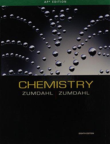 CHEMISTRY AP Edition: Zumdahl