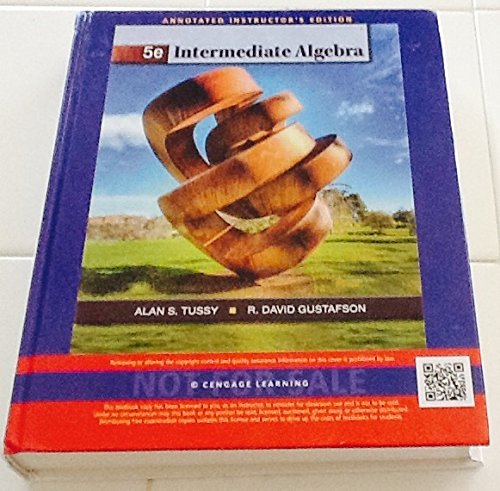 9781111577353: Aie Intermediate Algebra 5e