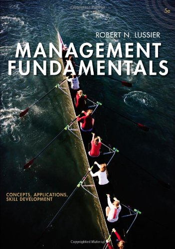 Management Fundamentals: Concepts, Applications, Skill Development: Lussier, Robert N.